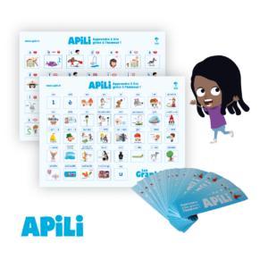Duo de posters Lettres de l'alphabet + graphies + marque-page