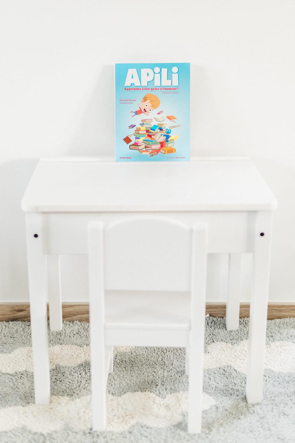 La méthode Apili illustration avec bureau