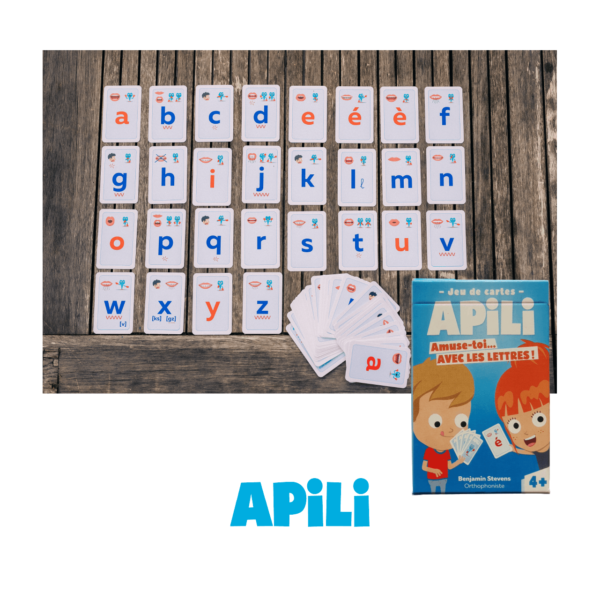 Jeux de Cartes Apili