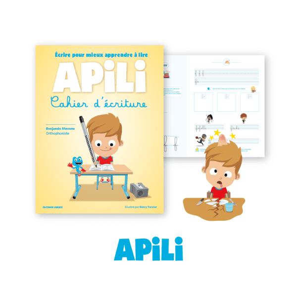Cahier d'écriture Apili